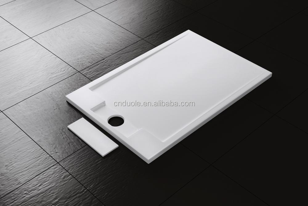Morden Family Bathroom Solide Surface Stone Resin Shower Tray