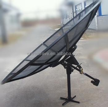 6ft Feet 18m 180cm 72inch C Band Satellite Aluminum Mesh Dish Hd