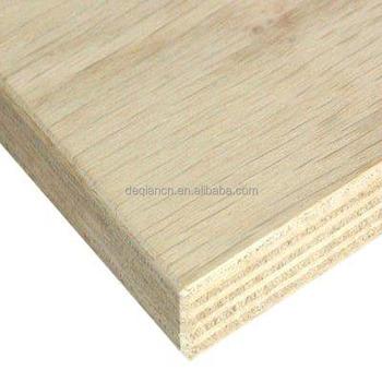 4x8 Wood Veneer Waterproof Shutting Cheap White Oak Red