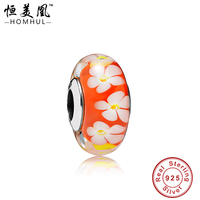 Wholesale Core Murano 925 Silver Glass Beads For Jewelry Making