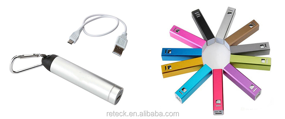 Ultra slim 8000mah power bank Type C port external battery