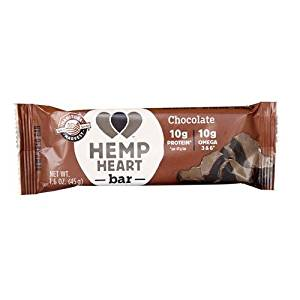 Manitoba Harvest Hemp Harvest Bar - Chocolate - 1.6 oz - Case of 12