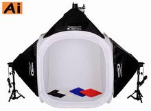 80x80cm FREE SHIPPING by DHL/TNT  PHOTO TENT TABLE PHOTOGRAPHY SOFT BOX KIT Photo Studio Portable Light Tent Kit Softbox Kit