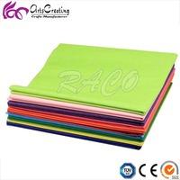 diy handicrafts work solid assortment tissue paper / pantone color packaging tissue paper