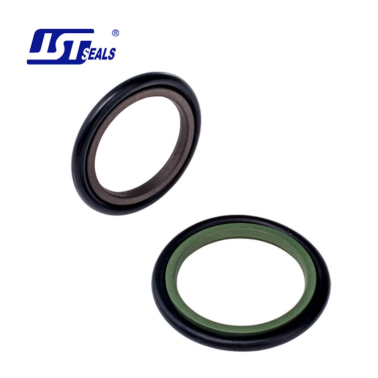 Custom dimension circle shape PTFE hydraulic cylinder rod seals