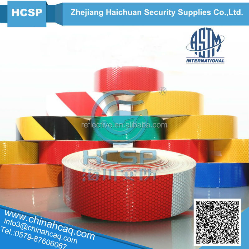DOT-C2 Certified Reflective tape for truck safety warning tape