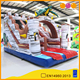 AOQI used inflatable slide / commercial inflatable slide / dry slide for sale