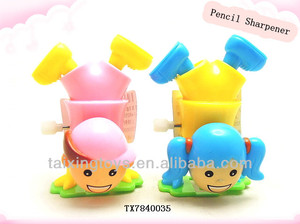 Newest and Educational Stationery wind up girl and boys