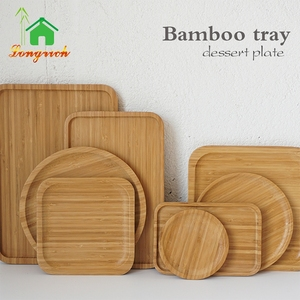 Wooden OEM Cheap Recyclable bamboo Oval Dinner sushi Plate