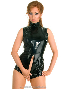 Sexy Club Wear Shiny Pvc Dress Sexy Club Pvc Dress Tight