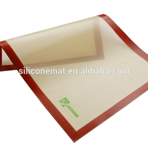 Reusable Silicon Baking Mat Non Stick for Bake Pans & Rolling - Macaron/Pastry/Cookie/Bun/Bread Making