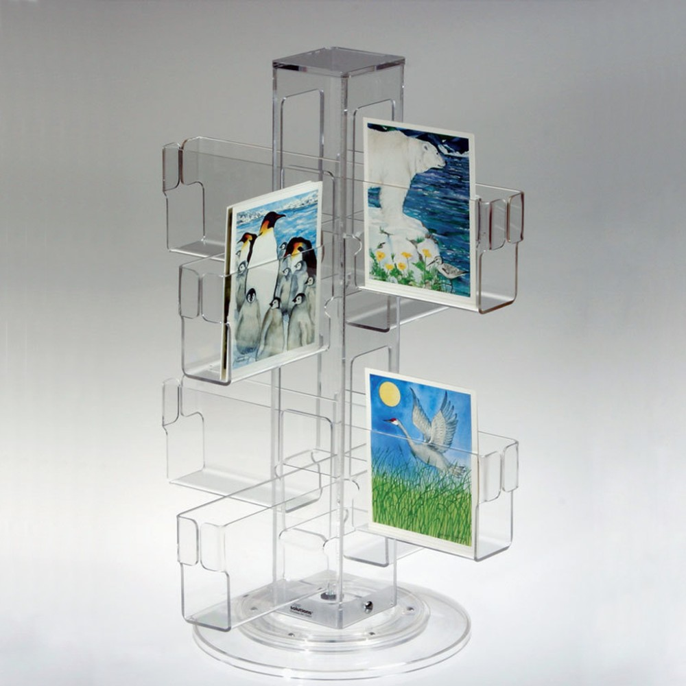 card counter postcard co greeting displays luminati rack display stand s