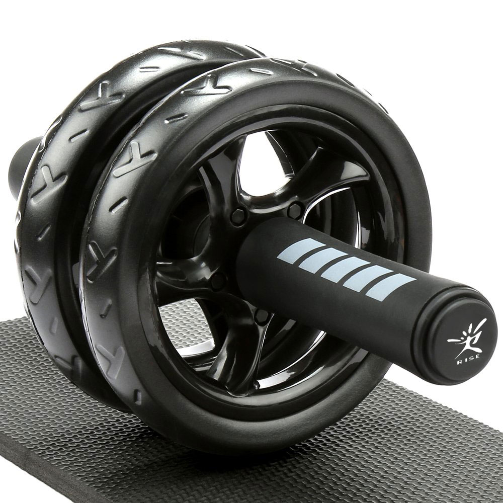 Ab wheel Roller Abdominal Trainer Exercise Wheel Roller Comfort Handles AB Wheel Gym Tool Strength Training Body Fitness