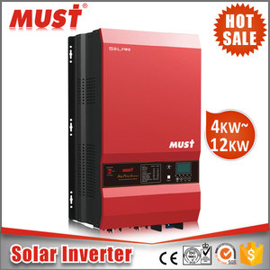 solar power factory high quality 4kw-12kw pv solar inverter for home use