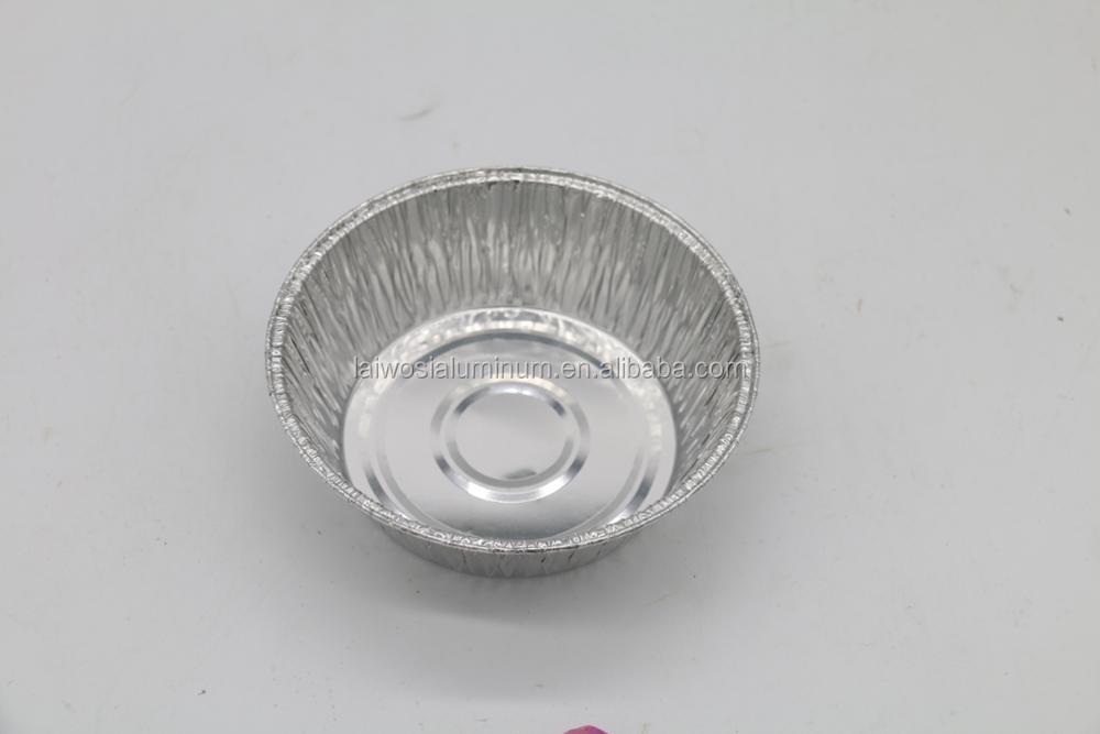 Disposable Microwave Safe Aluminum Foil Soup Bowl Baking