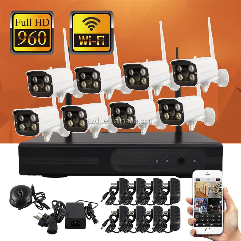 CCTV Camera System Kit wifi cctv camera system ip camera set