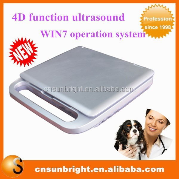 professional new product 4d veterinary ultrasound with cheapest price/cheap 4D vet laptop ultrasound
