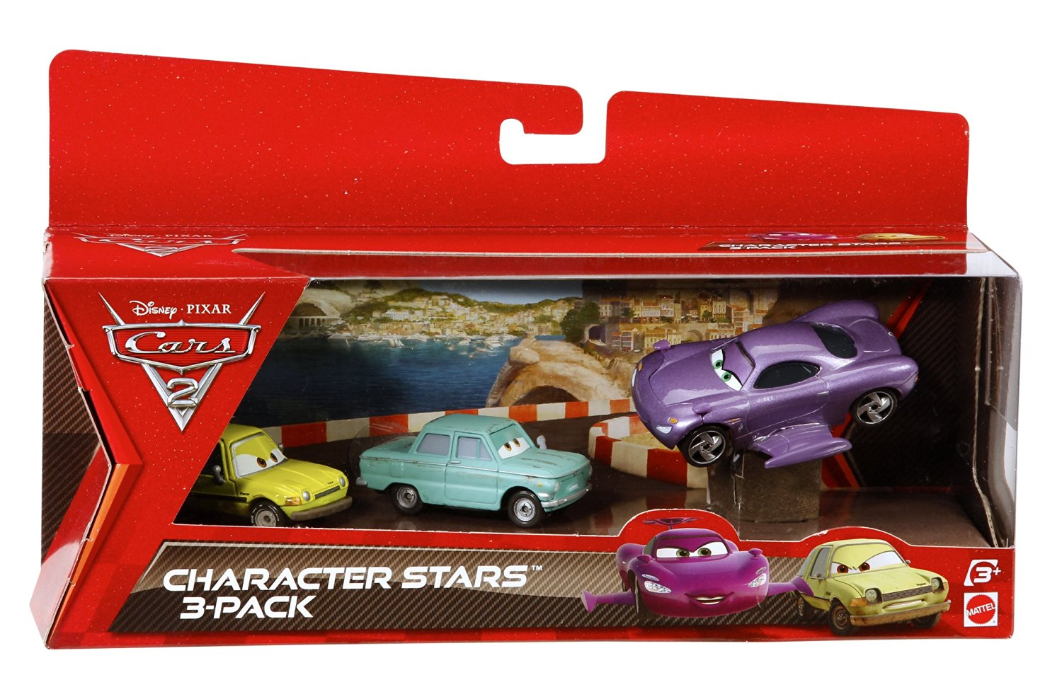 Cars 2 Collector Holly Shiftwell, Petrov Trunkov, and Acer Vehicle 3-Pack