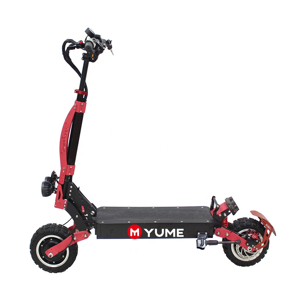 YUME YM G11 China fastest newest design Yume 3200w e scooters dual motor off road fat tire electric scooter for adults
