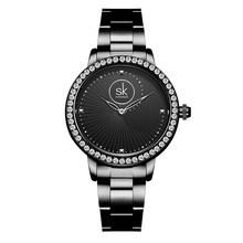 Женские часы роскошные часы браслет водонепроницаемые дропшиппинг 2020 бриллиантовые женские наручные часы для женщин кварцевые часы Reloj Mujer(China)