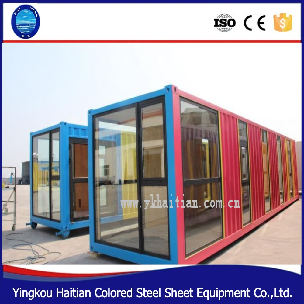 Modular prefabricada casa de cristal kit precio bajo for Prefab glass house prices