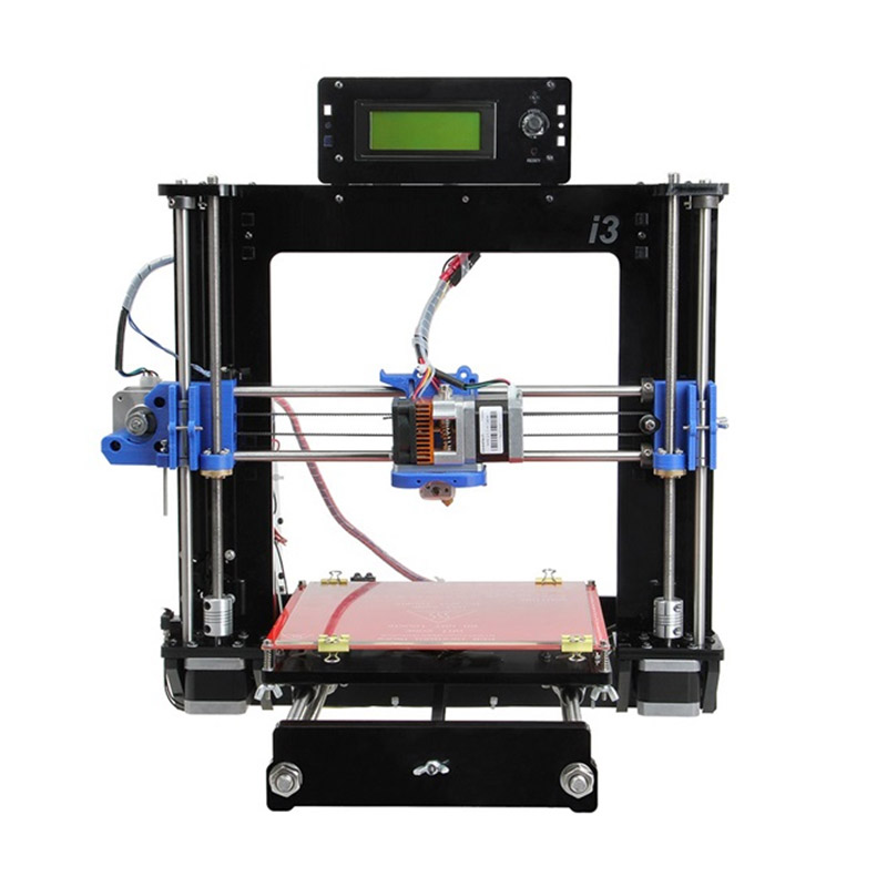 3D Imprimante filament i3 pro C double extrudeuse Reprap 3D imprimante machine DIY kit