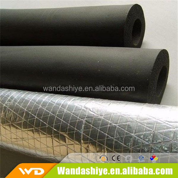 black rubber foam insulation pipe for direct export to Brazil