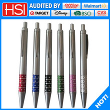 writing instruments factory target audited promotional plastic ball pen