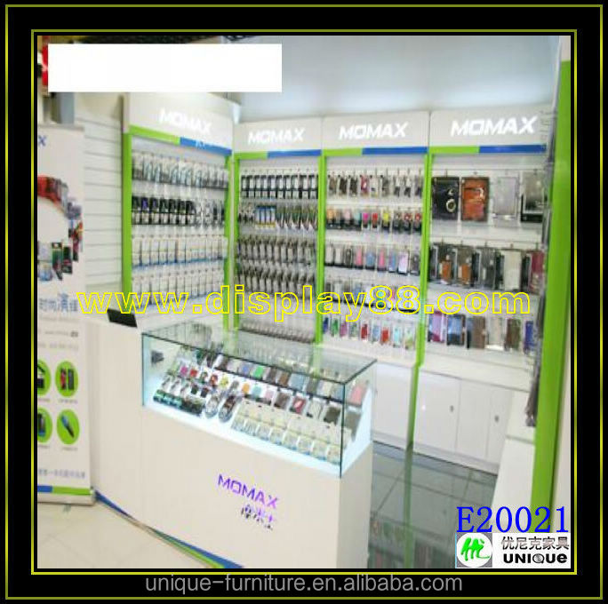 2015 Mobile Phone Shop Interior Design Furniture Mobile Phone Shop