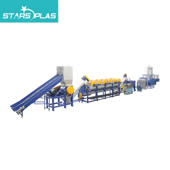 PP PE Plastic Film washing recycling line