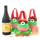 Christmas Santa Claus Wine Bottle Wrap Cover Pouch Bag Sack Xmas Gift Decoration