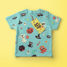 Wholesale Cotton Kids Organic T Screen Printing Baby Shirt