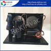 Compact 24V DC DC Mini Compressor Refrigeration Unit with Fan for Mini Freezer