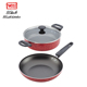 Healthy press industrial cooking aluminum non stick soup pots and fry pan