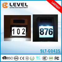 Wholesale Waterproof Stainless Steel Supper Bright LED Solar LED Address Number For House