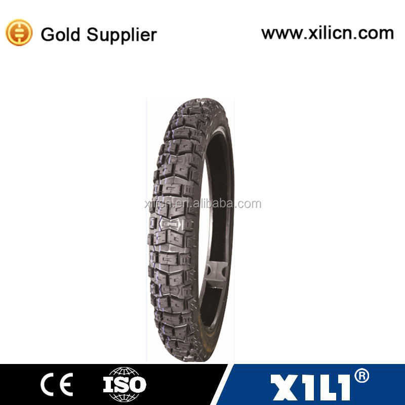 rear tyre 2.75-17 off road pattern