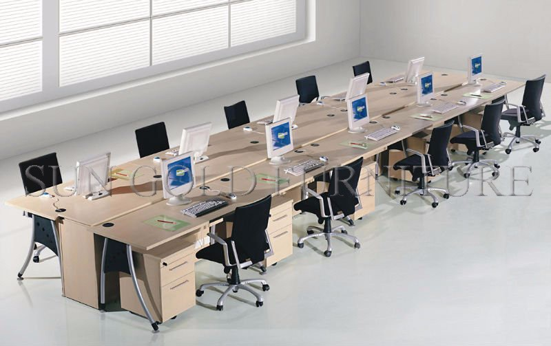 Modern Used Call Center Work Station For 10 Person Sz