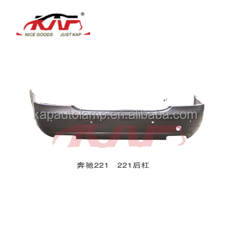 Rear Bumper 2218805240 forBenz W221 Parts Auto Rear Bumper Factory