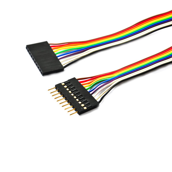 Wholesale electrical wires laptop lcd cable 10 pin flexible <strong>flat</strong> ribbon cable