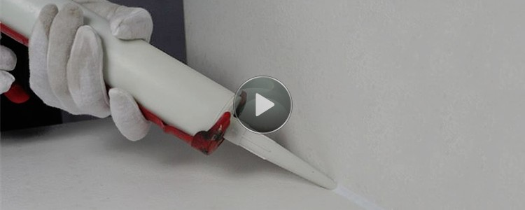 Paintable Acrylic Latex Liquid Nail Glue For Kicking Line