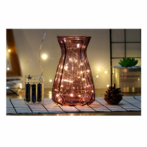 Merry Christmas Fairy Light String Star Shape milk bottle night light