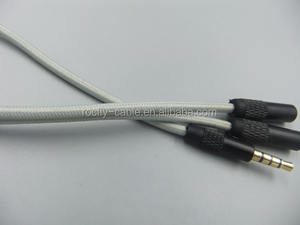 Factory price Stereo Audio cable vga splitter 1 input 2 output audio video usb y cable splitter 1 female 2 male