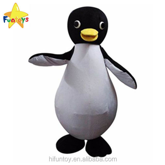 Funtoys CE Penguin Character Mascot Costume/Advertising Fur Mascots/Party Cartoon