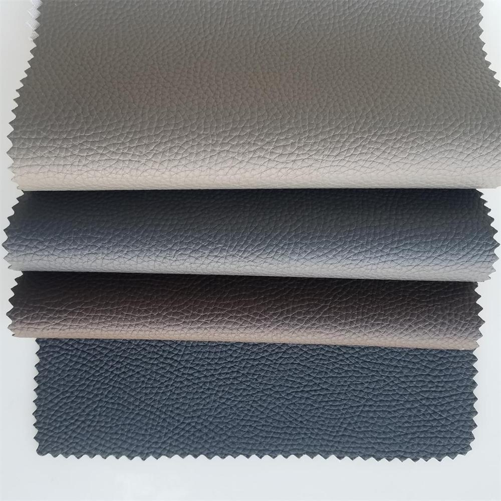 The Latest PVC synthetic <strong>Leather</strong> with Knitting backing and Nonwoven backing for Car Seat use Car Interior upholstery