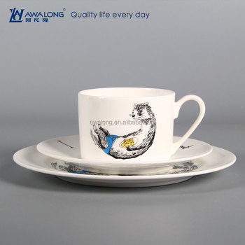 Name Customized High Quality Western Dishes Dinnerware Bone China Vintage Tableware Cup And Plates & Name Customized High Quality Western Dishes DinnerwareBone China ...