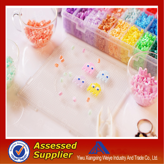 Plastic Perler Beads Plastic Wholesale Hama Beads Sets Educational ...