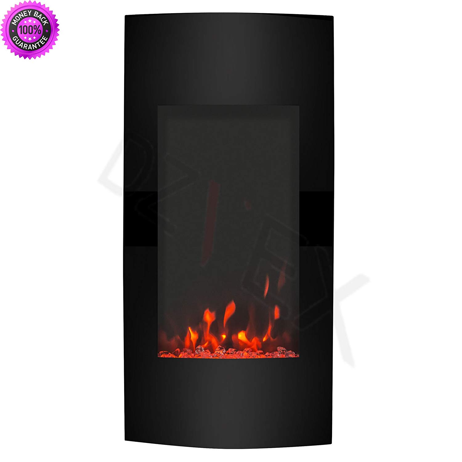 """DzVeX_1500W Adjustable Vertical 38"""" Wall Mount Electric Fireplace Heater Multi Color And wood burning fireplaces electric fireplaces clearance home depot home depot fireplaces 80% off gas fireplaces"""