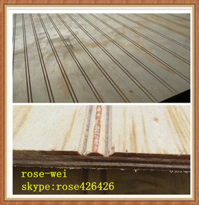 1220x2440mm 9mm 12mm full pine slot plywood