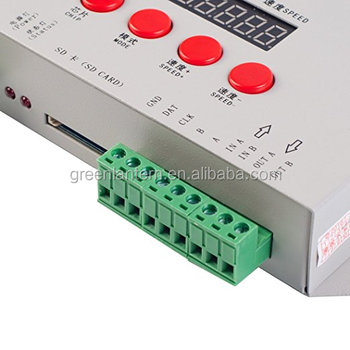 New Style K-1000c Ws2812b Led Controller,T-1000s Upgraded  Version,Compatible With Ws2812b Apa102 Sk6812 Ws2811 Ws2801 - Buy K-1000c  Controller,Ws2812b