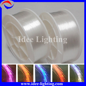 color changing fiber optic wire light with remote control